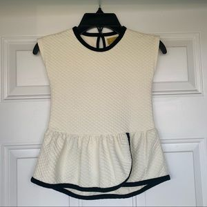 •Nicole Miller• Girls Sleeveless Textured Tunic-4T